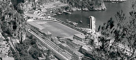Le Stade Louis II en 1949