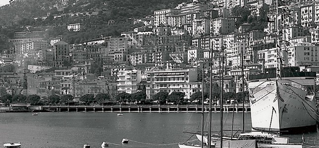 The Principality of Monaco in 1955