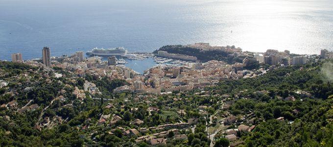 La Principauté de Monaco depuis la Turbie