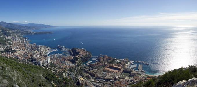 Vue panoramique de la Principauté de Monaco