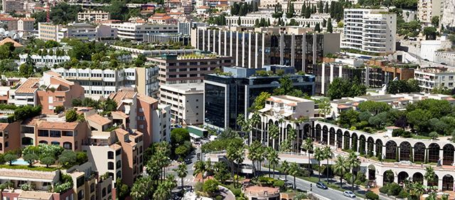 Principauté de Monaco - Le Quartier de Fontvieille