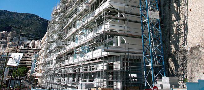 Le Quai Kennedy en construction