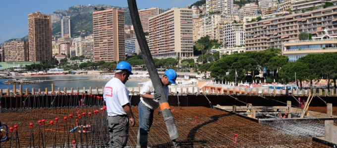 Construction Monaco : Les Villas Du Sporting