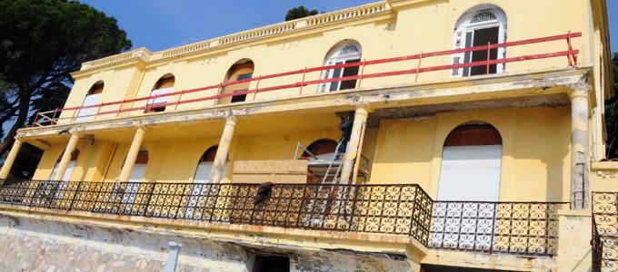 La Villa Shangri-Là - avant réhabilitation