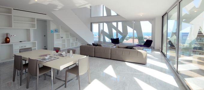 Aménagement intérieur dans la Résidence Le Simona