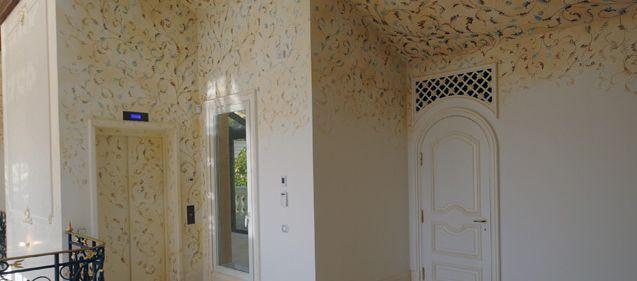 Aménagement intérieur dans la Villa Farniente