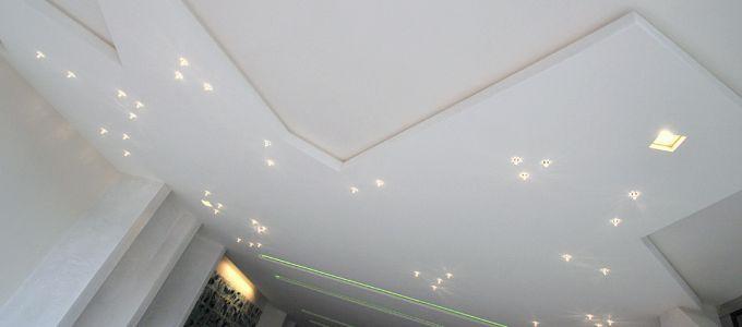 Plafonds de l'entrée du Mirabeau