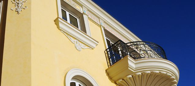 Travaux de peinture façade - Villa