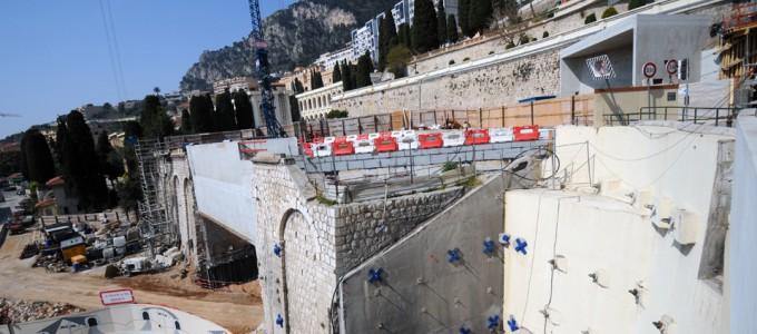 Travaux de Génie Civil sur le Tunnel Descendant