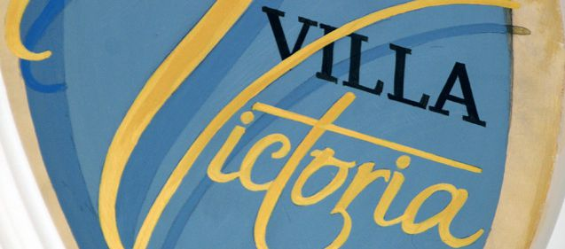 Façade et décoration de la Villa Victoria